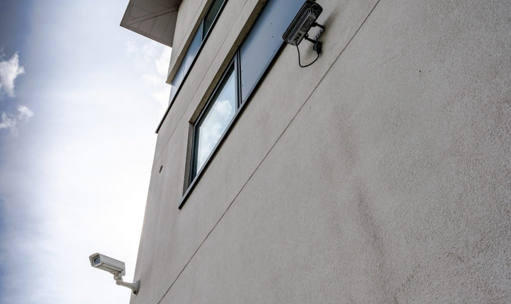 Commercial Building with CCTV